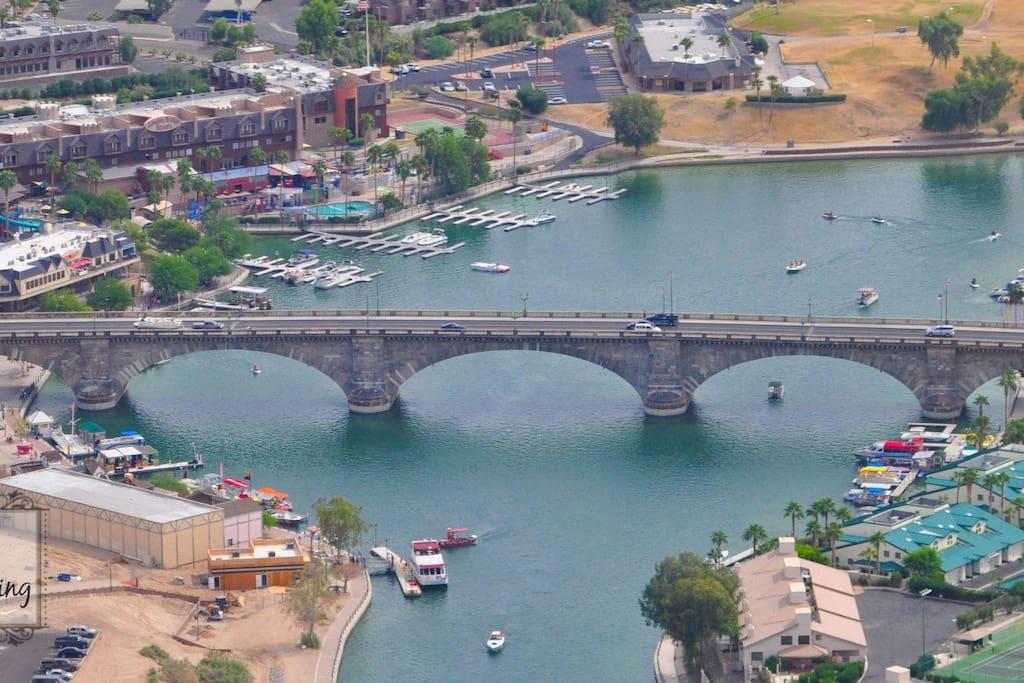 Home of The London Bridge, Lake Havasu City Arizona is your next destination!