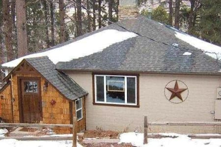 Quiet Colorado Cabin in Historic Mountain Town - Palmer Lake - 통나무집