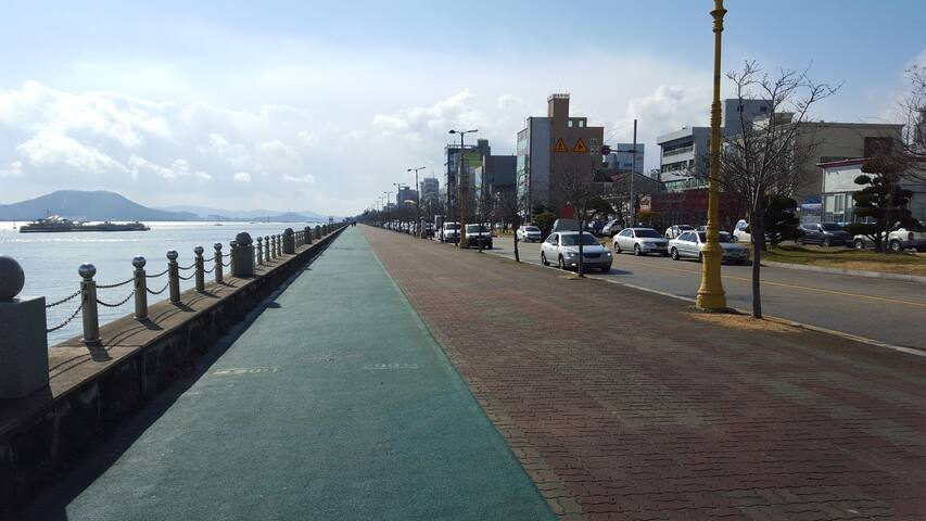 Sea of Mokpo 목포앞바다.