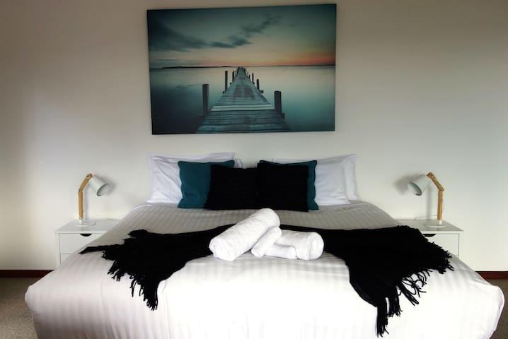 Huge King Bed