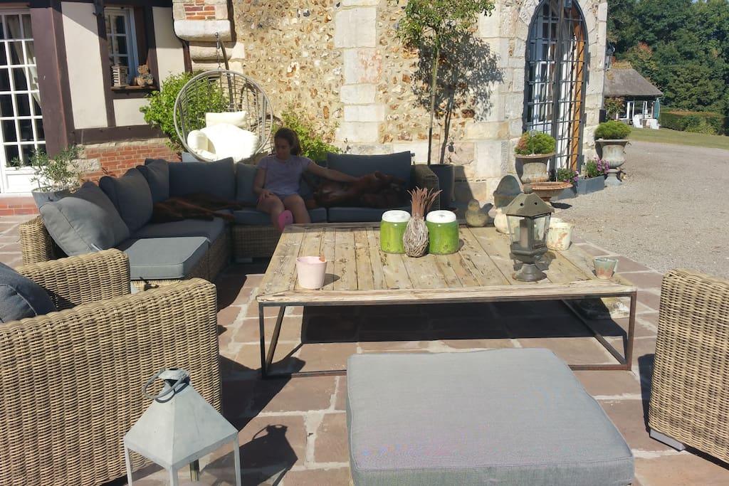 la terrasse du Manoir