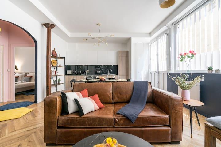 Elegant and Modern Family Loft