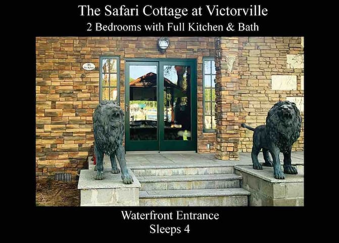 The Safari Bungalow at Victorville. 2 bedrooms