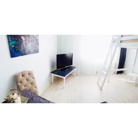 Loft bed studio apartment - Liepāja - Apartemen