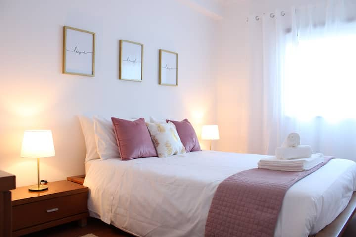 Lovely spacious apartment 6pax in Coimbra
