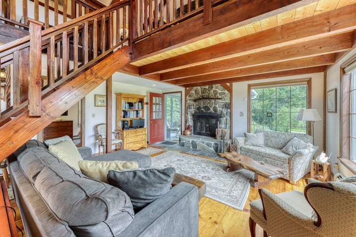 New listing! Classic New England home w/ gorgeous property & screened porch!