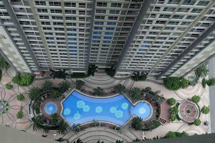 Cozy/luxury 1BR Condo@Central Park in HCMC