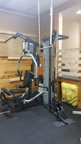 Body Solid G5S w/cable station Total body multi-station weight trainer