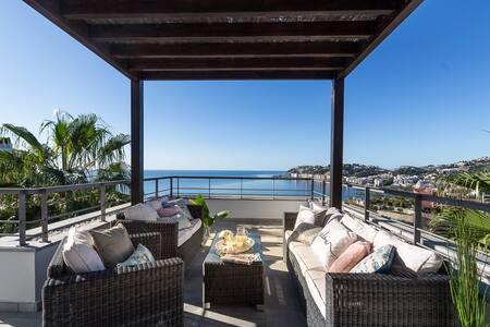 Villa Vista del Mar - breath-taking sea views