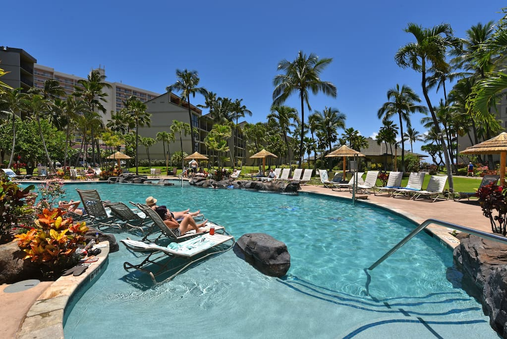 Beautiful Resort Pool to Relax by