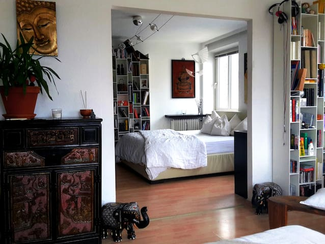 Stylish flat with beautiful terrace - München - Appartement
