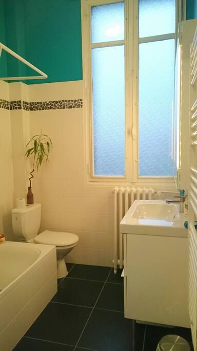 SDB privée avec WC