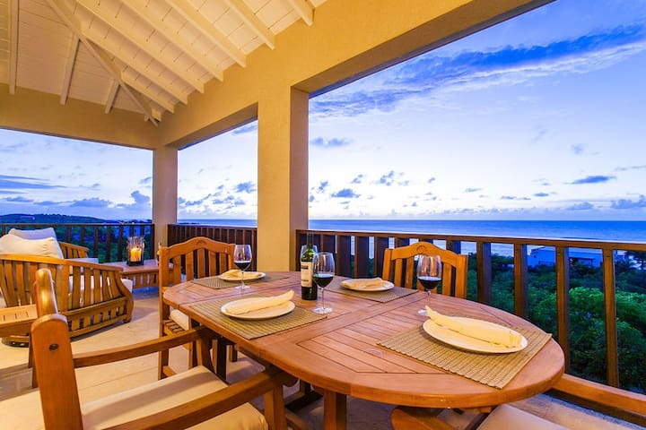 "Fountain Anguilla by ""Refined Retreats""~King Suite Penthouse w/ Ocean Views!"