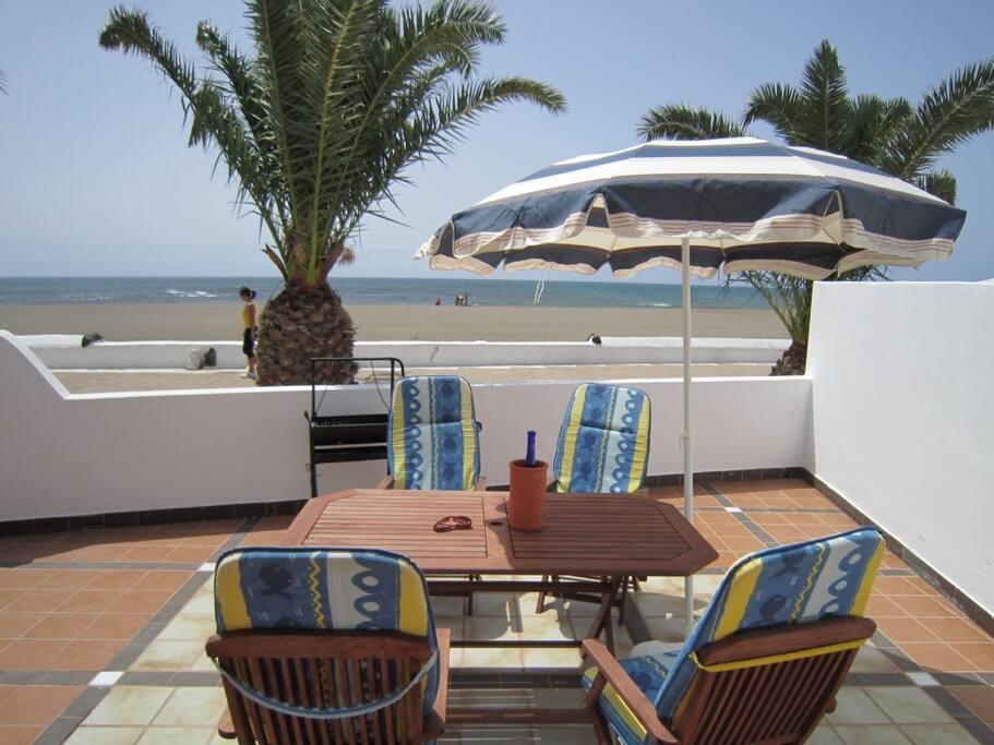 Casa mar bungalow en primera l nea bungalows en alquiler - Casa del mar las palmas ...