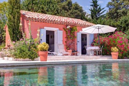 Mazet dans propriété avec piscine - Auribeau-sur-Siagne