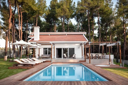 THE WHITE VILLA AT SANI HALKIDIKI - Sani - Huvila