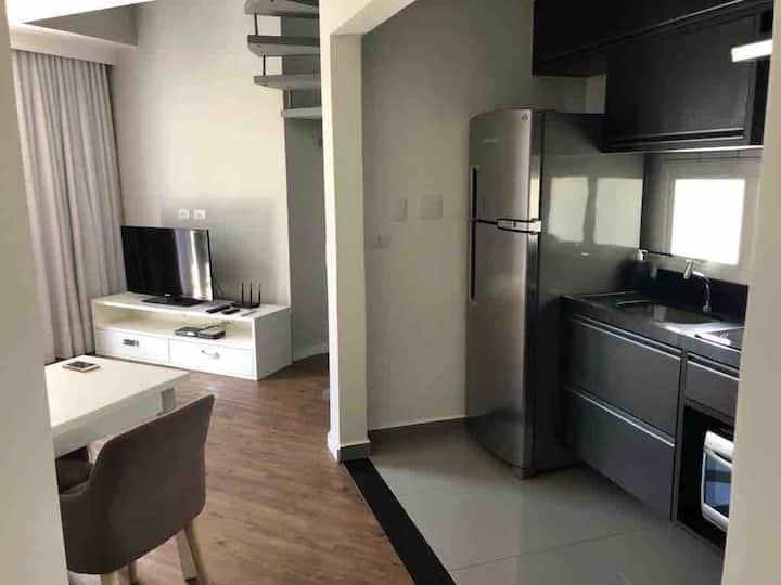 Confortável e pratico loft próximo ao Ibirapuera