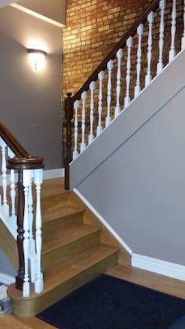 Hallway Common Stairs