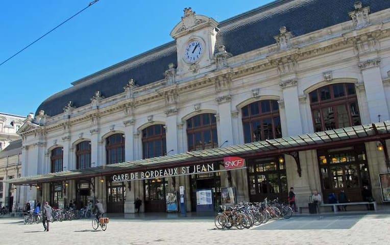 Studio à 150m de la Gare Saint-Jean