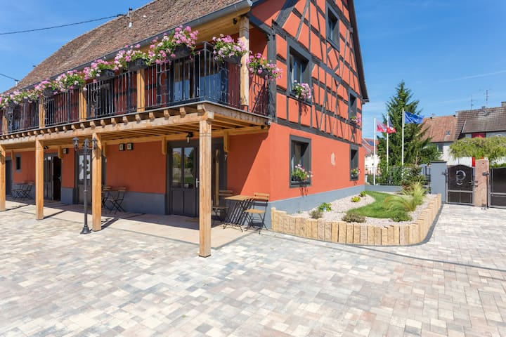Charming apartment located Ried 7 - Holtzwihr - อพาร์ทเมนท์