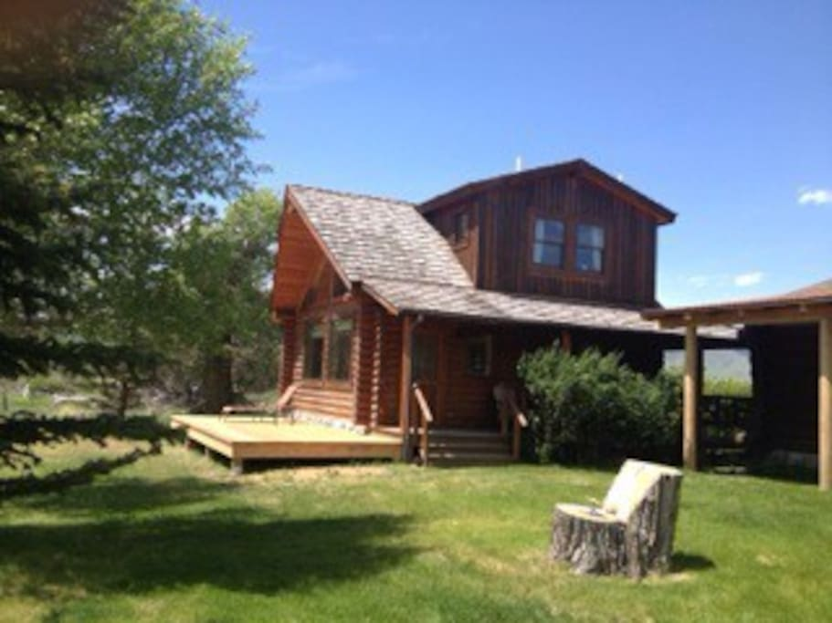 Montana fishing cabin cabins for rent in livingston for Fishing cabin rentals