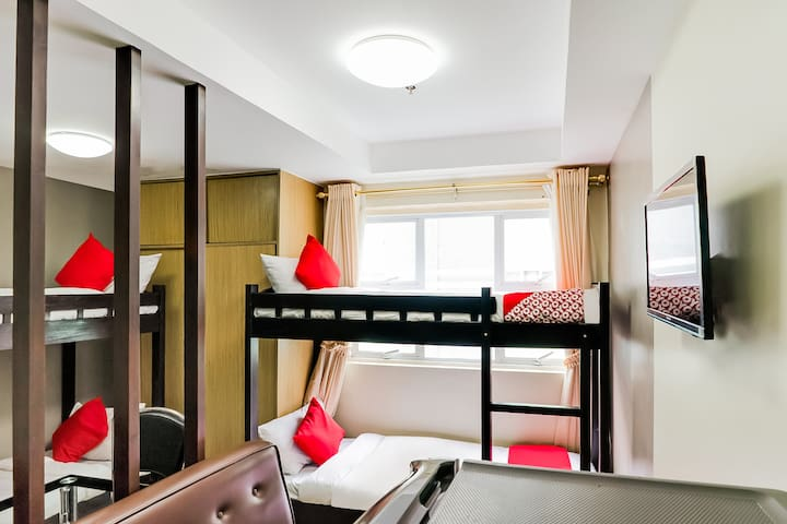 Standard Bunk 4 Bed Stay@North Cambridge