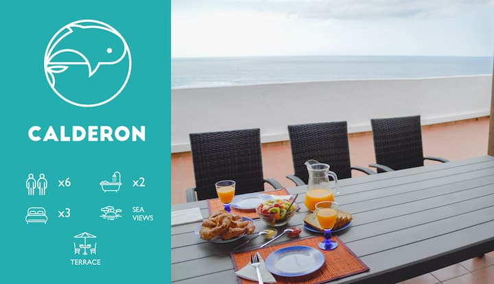 [Fronton Whale] Calderón- Duplex con terraza