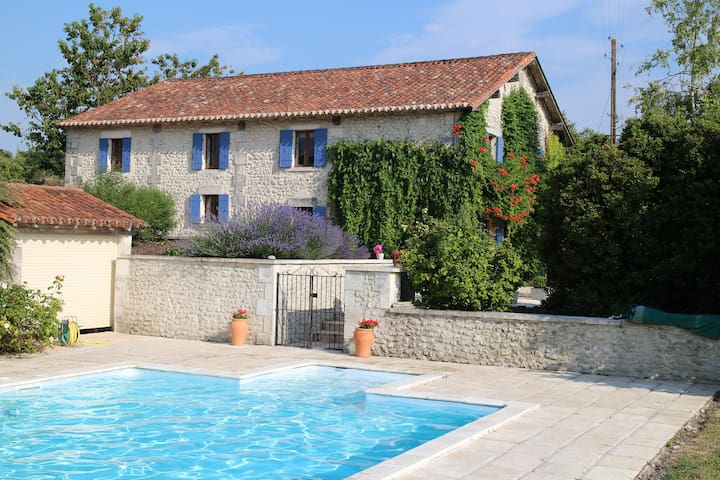 La Grange, Dordogne Barn Conversion - Saint-Martial-Viveyrol - House