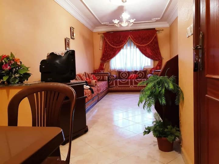 Nice, well-kept apartment in a quiet location
