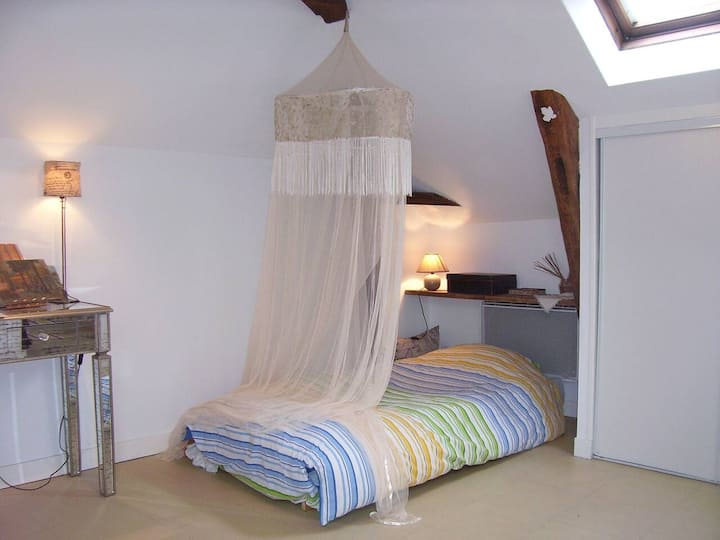 Studio 32 m²  Only Women in the heart of the Loire