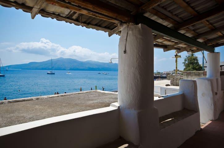 Eolie salina- Camera genitori - Santa Marina Salina - Apartment