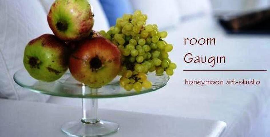 Honey moon apt. at Tree of Life  - Agia Marina - Bed & Breakfast