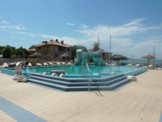 Swimming pools area