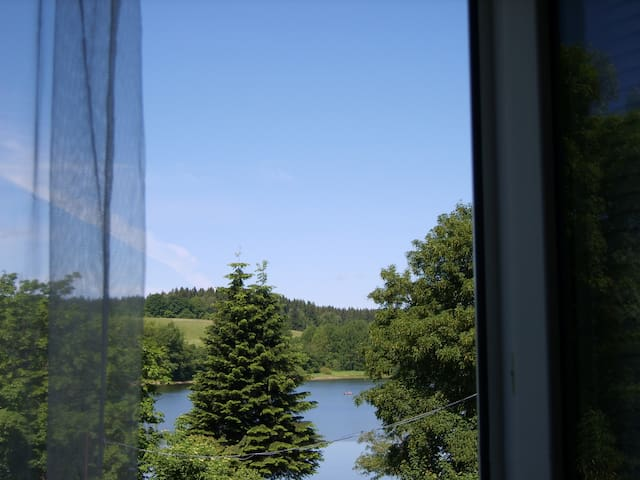 Апартаменты с видом на озеро. - Frymburk - Byt