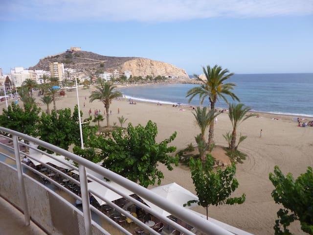 First line to the beach in Aguilas