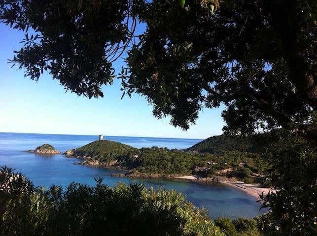 Villa 6 pers avec piscine -fautea -bord de mer -