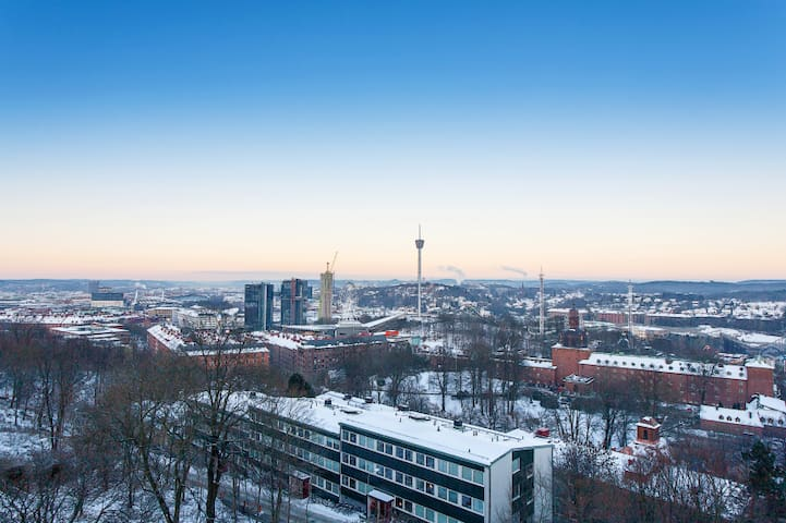 2 room aprt, Central, Great View  - Gothenburg - Byt