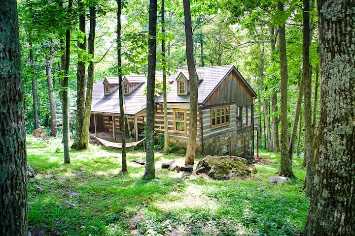 """""""The Cabin At Wintergreen"""""""