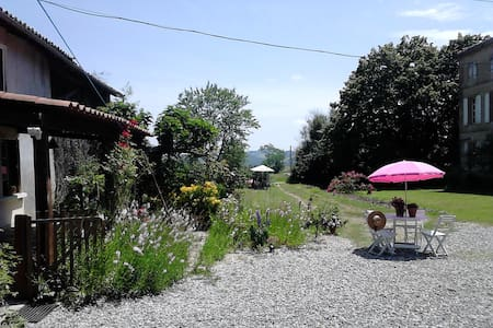Holiday cottage/ gite near pyrenees - Huis
