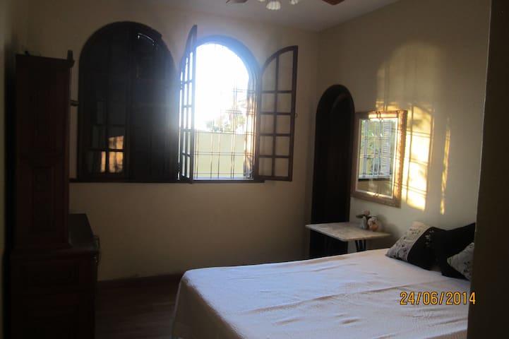 Bedroom/full bath in Pampulha.  - Belo Horizonte - Bed & Breakfast