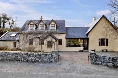 Our cottage is perfectly located to explore both Connemara and Galway city. 3 double bedrooms, 1 en suite, 1 shower room, kitchen & kitchen essentials, living room and sunroom. Child friendly.  Refurbished in 2014. We started Airbnb in July 2014.