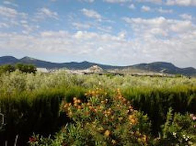Vista al castillo de castalla
