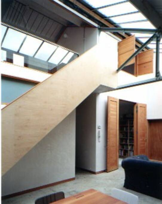 stairs leading to landing and bedrooms