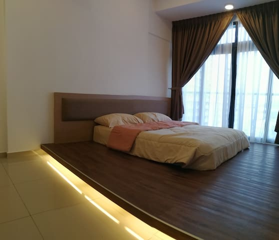New 2 Bedrooms Studio Condo near SPICE Penang