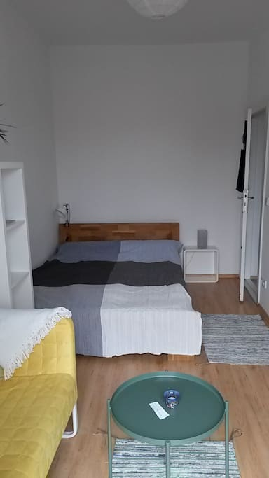 guestroom with double bed