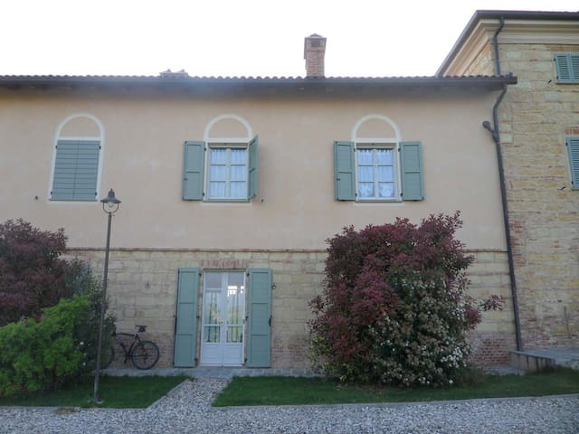 Monferrato: ancient apartment - Grazzano Badoglio - Apartament