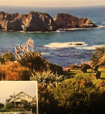Beautiful Scenic Ocean Views At A Charming House