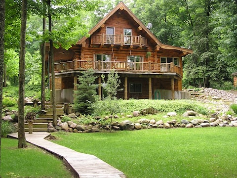 Lodge on the Muskegon River