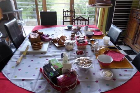 CHAMBRE FEU AU NAMASTE 3*** - Dunkirk - Bed & Breakfast