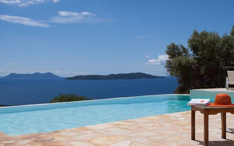 Villa Boubouki, Endless Sea Views - Apollonioi - Vila
